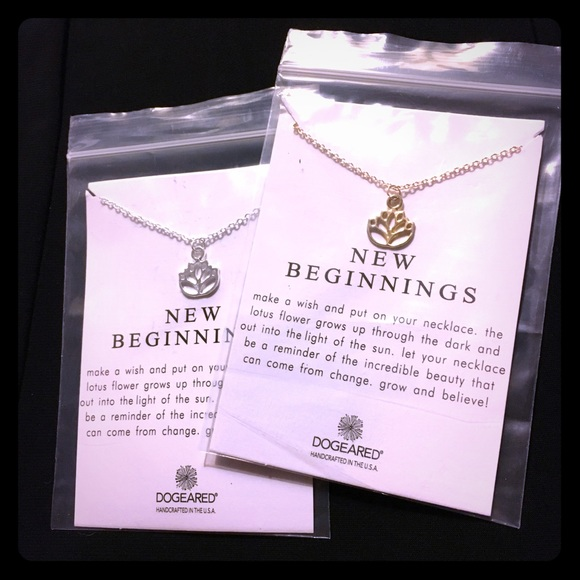 Jewelry new beginnings lotus blossom necklace goldsilver poshmark new beginnings lotus blossom necklace goldsilver mightylinksfo